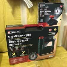 Pistola sparapunti batteria Parkside 12v X12V Team con valigetta e kit 2Ah nuovo