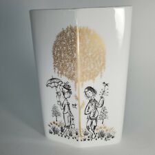 "Vintage Rosenthal Studio Line Raymond Peynet The Lovers Wedding Vase 7"" Germany"