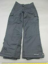Columbia Size 14-16 Youth Black 100% Nylon Waterproof Insulated Snow Pants 766
