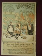 POSTCARD RANDOLPH CALDECOTT - WAS NOT THAT A DAINTY DISH