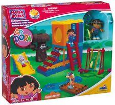 MEGA BLOKS Dora BIG BACKYARD ADVENTURES #3006 Complete Set works w/ LEGO Duplo