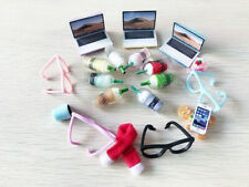 Random 10 Lot Accessories For LPS Computer Glasses Scarf Mobile Phone Drink Rare