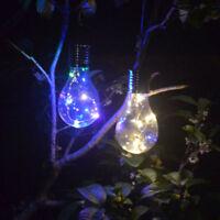 Solar LED Light Lamp Christmas Holiday Decoration Garden Waterproof Outdoor New