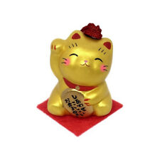 Grelot Chat Japonais doré en ceramique Maneki Neko made in Japan  40609