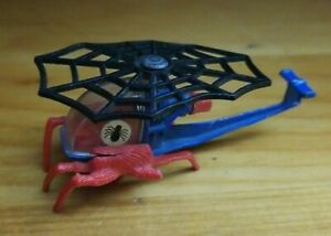 Vintage Corgi Juniors SPIDER-MAN Spidercopter Diecast Helicopter Toy (Damaged)