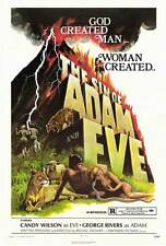 SIN OF ADAM AND EVE Movie POSTER 27x40 Candy Wilson Jorge Rivero