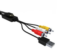 2M 1080P HDM to 3RCA USB Video with Audio Out Converter Adapter for PS4 TV Box