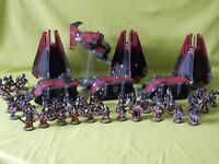 WARHAMMER 40K SPACE MARINES FLESH TEARERS PAINTED ARMY - MANY UNITS TO CHOOSE FR