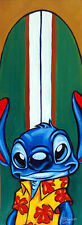 Lilo and Stitch Surfin Stitch Tim Rogerson Disney NEW Canvas LE 20 Signed Giclee
