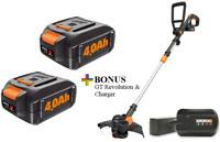 WORX Buy (2) 20V Batteries, Get FREE GT Cordless Revolution & Charger! (WG170.1)