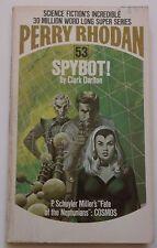 #53 Perry Rhodan SPYBOT! science fiction paperback ACE 1974