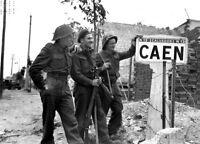 7x5 Lucido Foto ww1032 Normandia Invasione WW2 Guerra Mondiale 2 1506