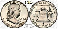 1953 Proof Franklin Half Dollar 50C PCGS PR66