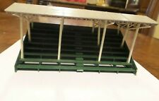 """HO Scale Competition Covered Grandstands 6"""" x 3"""" x 3"""" Excellent Condition-Built."""