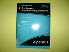 Teacher's Guide Algebra 1 Practice and Problem Solving Workbook (Florida) @2015