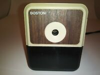 Boston Electric Pencil Sharpener Model 18 - Tested & Working