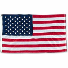 United States American US Flag Heavy Duty Nylon Embroidered Stars USA Flags Best