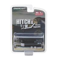 Greenlight 1/64 Hitch & Tow Trailers Livestock Trailer Model BLACK (51213)