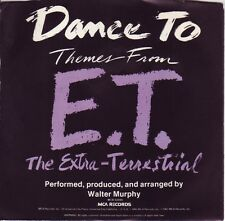 WALTER MURPHY Dance To Themes From E.T. ((**NEW UNPLAYED 45 DJ**)) from 1982