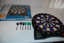 HALEX GAME WINNER ELECTRONIC DART BOARD TESTED WORKING PORTABLE 8 PLAYER W CRCKT