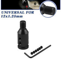 Universal Aluminum Shift Knob Adapter for Non Threaded Gear Shifters 12x1.25mm