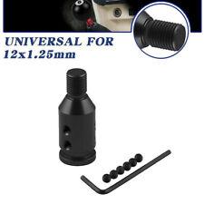 Universal Aluminum Shift Knob Adapter for Non Threaded Gear Shifters 12x1.2 KC