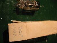 AMPEREX   HOLLAND   7025 BUGLE  BOY  12 AX7  TESTED GOOD NIB