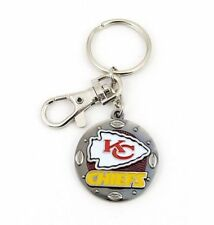 Kansas City Chiefs Metal Impact Keychain With Lobster Clasp and Emblem **New**
