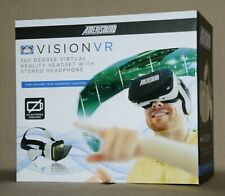 New in box Amerisoun Vision VR Headset Stereo Headphone for IPhone and Android D