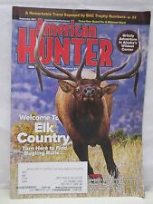 American Hunter Magazine September 2011 Grizzly Adventure in Alaska