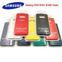 New Original UltraThin Silicone Case Cover For Samsung Galaxy S10 S10+ Plus S10e