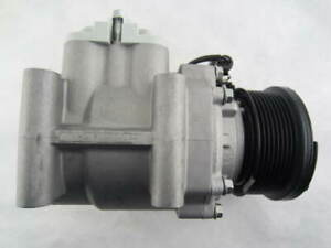 Ford A/C Compressor with 8 Groove Clutch.  04-07 Sterling Truck, Ford L-Series