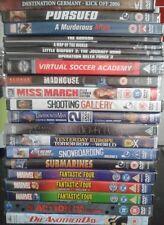 wholesale joblot dvds 20 x Dvds New Sealed Various Titles