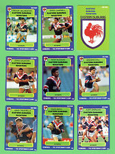 1990  EASTERN SUBURBS ROOSTERS  RUGBY LEAGUE CARDS