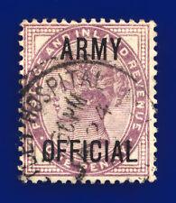 More details for 1896 sgo43 1d lilac (16 dots) army official netley hospital southampton gu dhzu
