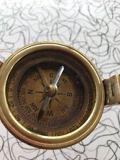 Brass Antique British Prismatic Military Vintage WW2 Mark Pocket Compass Gift