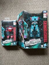 Transformers Earthrise War For Cybertron Clffjumper and Doubledealer Lot of 2