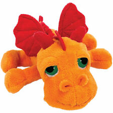 Lil Peepers Blaze Orange Dragon Plush Toy, 17.8cm