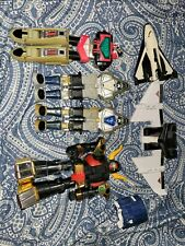 Vintage Power Rangers Lost in space Megazord parts Lot