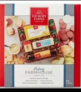 1 Hickory Farms Cheese & Sausage Farmhouse Sampler Holiday Gift Set
