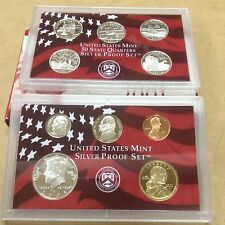 2001 US Silver Proof Set