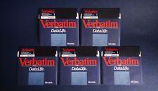 Kodak / Verbatim / Datalife - 5 x Floppy Disks 5.25'' / 100% TESTED