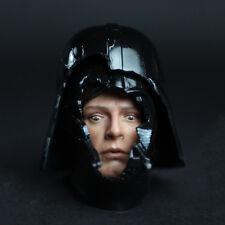 HOT FIGURE TOYS 1/6 HT DX07 VIP Darth Vader helmet and Luke Skywalker fear face