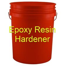 5 GALLON EPOXY HARDENER Curing Agent Epoxy Resin hardener (For 10 Gallon kit)