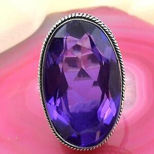 Schöner Amethyst Ring, Silber 925