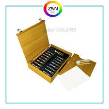 Maimeri Cassetta in legno colori a Olio extrafini 16 Tubetti