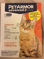 PetArmor Advanced 2 for Medium Cats 5-9 lbs, 6-count Make Offer Free Shipping