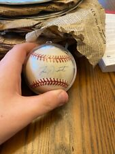 autographed baseball collection