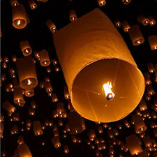 40X Green Chinese Cylindrical Sky Lanterns Flying Lamp for Party Wedding Wishing