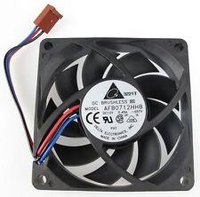 Delta AFB0712HHB DC 12V 0.45A 3-Wire/3Pin 70MM (70x70x15 MM) CPU Cooling Fan NEW